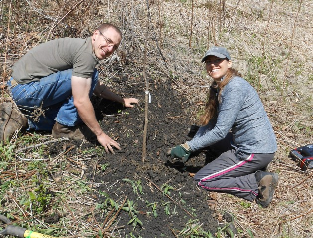 Ferry Forest Garden tree planting