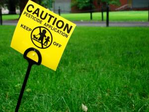 Pesticide Lawn