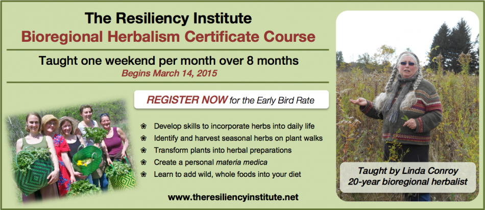 The Resiliency Institute Bioregional Herbalism Certification Course