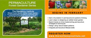Permaculture Forest Gardener Series 2018 @ The Resiliency Institute | Naperville | Illinois | United States