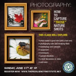 Let's Take Nature Photos @ The Resiliency Institute | Naperville | Illinois | United States