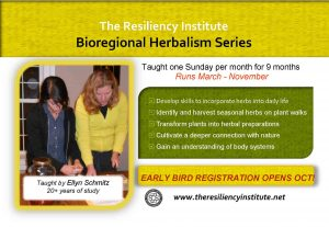 Bioregional Herbalism Course 2020 @ The Resiliency Institute | Naperville | Illinois | United States